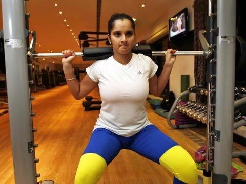 Sania Mirza posts gym workout video on Facebook