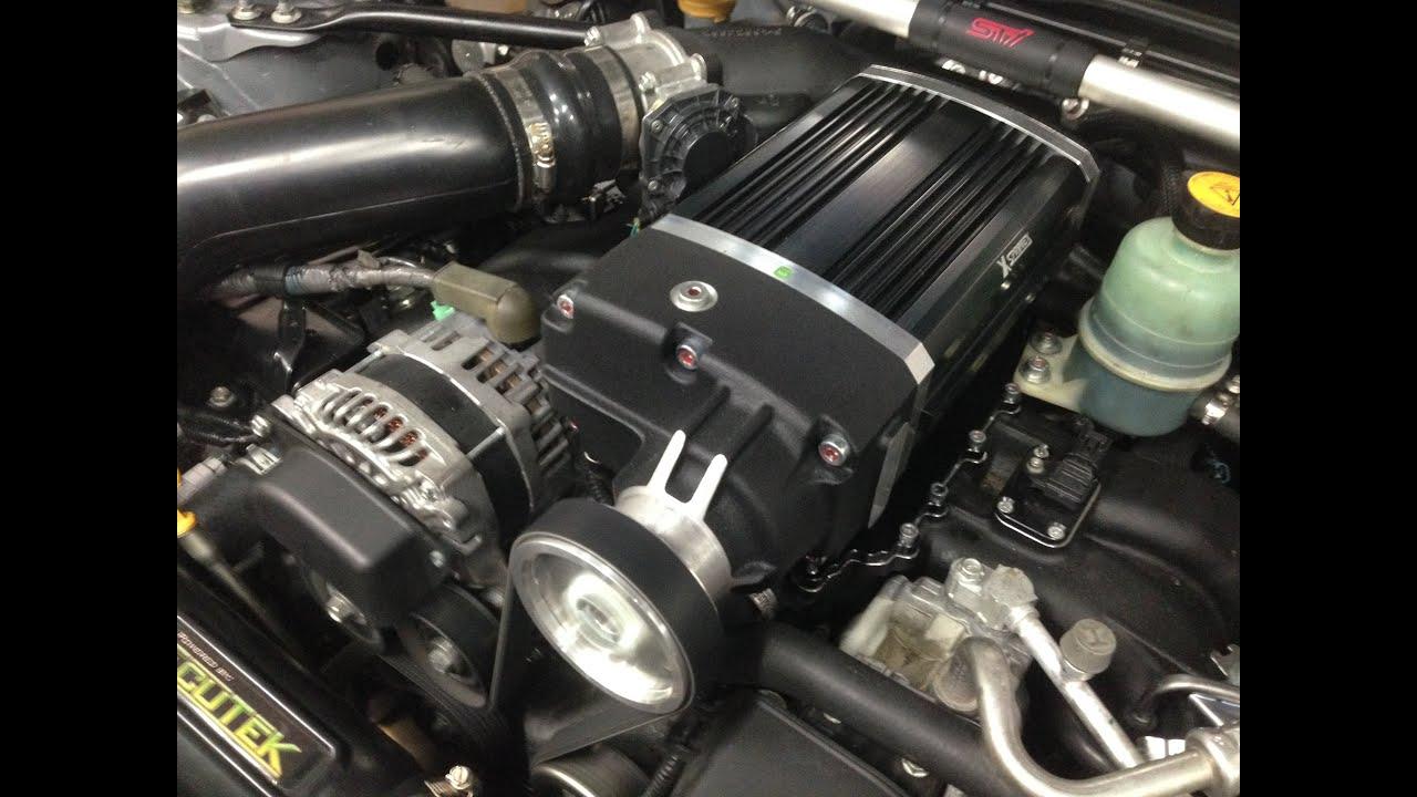 Brz supercharger kit the bigger blower option