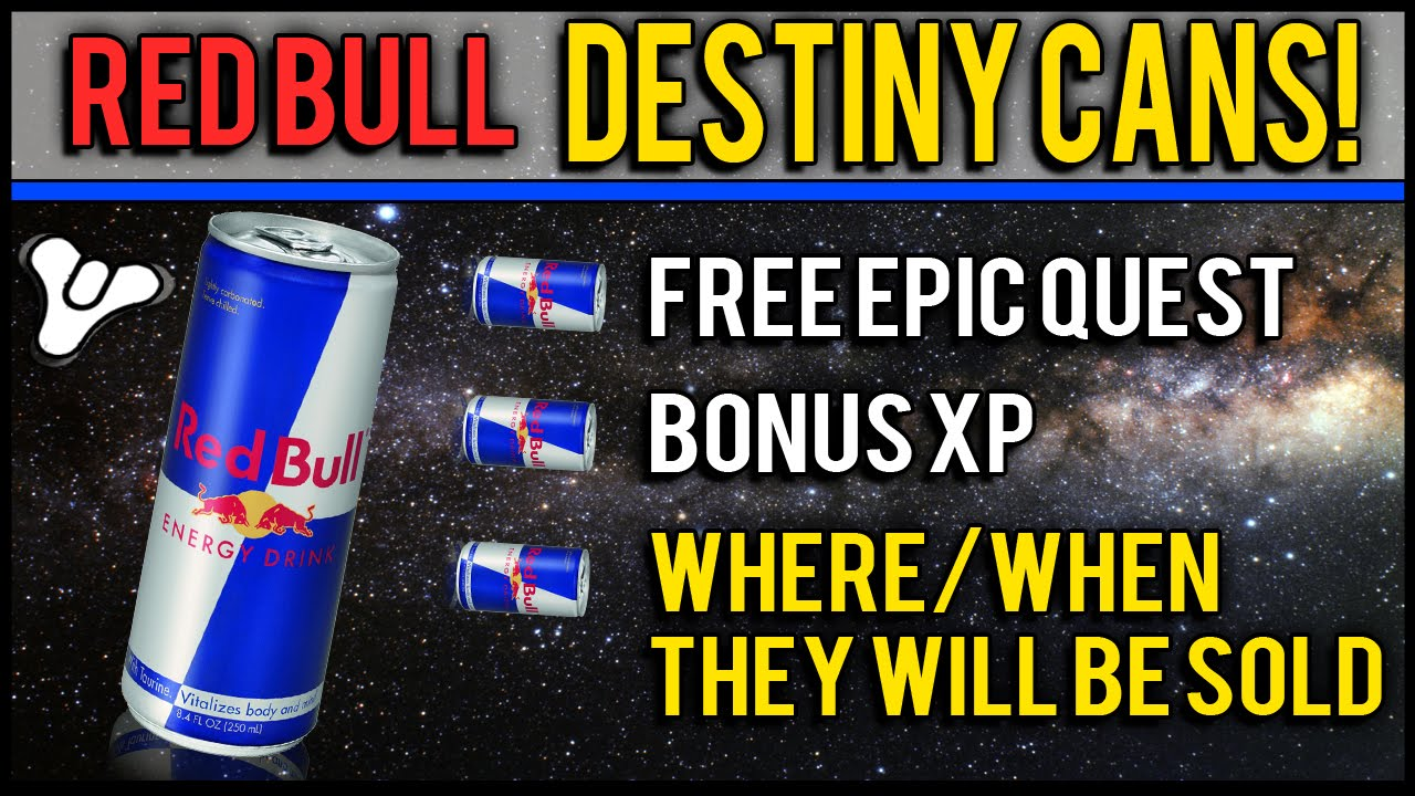destiny red bull energy promotional codes details first store