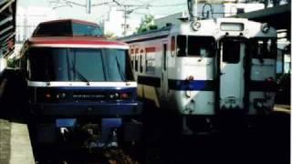 1999年3月から2002年3月まで大村線を走った特急シーボルトの長崎発車放...