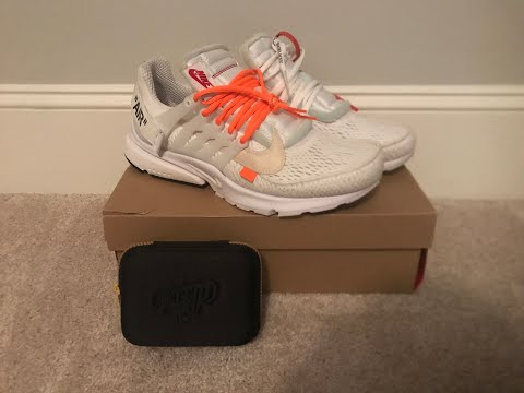 How to Clean Air Presto Off-White White (with crep)