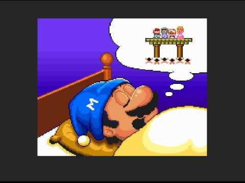 Super Mario Bros 2 (1988/1993) Ending [SNES]