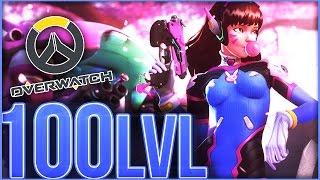 Overwatch - 100 LEVEL HYPE