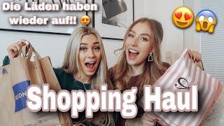 Shopping HAUL mit Bestie!   Cosima