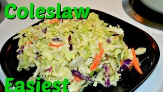 Homemade Coleslaw Restaurant Style Recipe Video By Chawlas-kitchen.com Episode #198