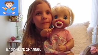 BABY ALIVE Twins 2006 Soft Face Adoption Compilation + Adoption Haul with Maddy and Elsa