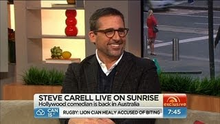 Sunrise - Steve Carell in Australia