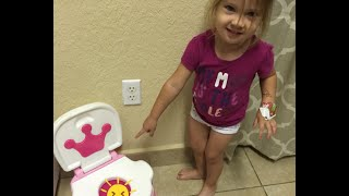 Potty Training Journey and Tips