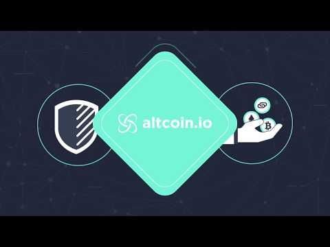Altcoin.io - The Cryptocurrency Exchange Of The Future