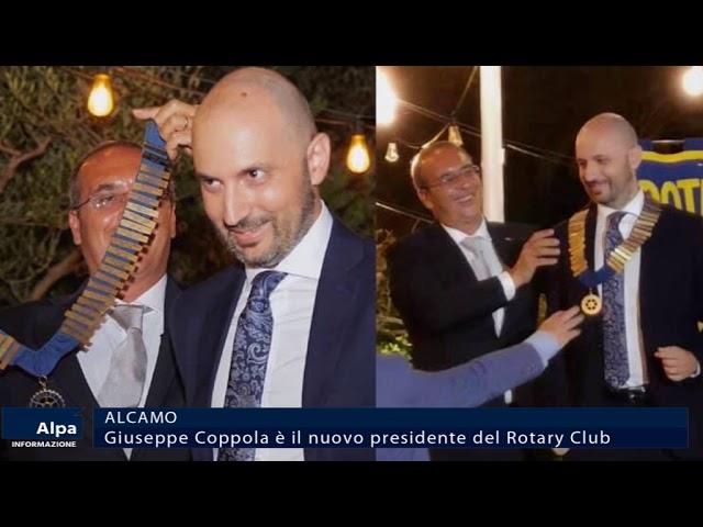 Alcamo, Giuseppe Coppola è il nuovo presidente del Rotary Club