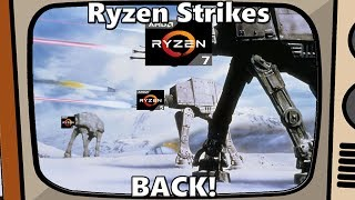 Ryzen Strikes Back! IPC in Gaming Superior to Intel Clock for Clock?