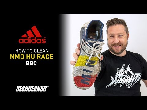 The Best Way To Clean Adidas BBC Human Race With Reshoevn8r!