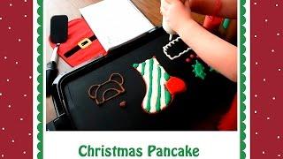 Pancake Art Tutorial: Christmas Stocking by Jenni Price