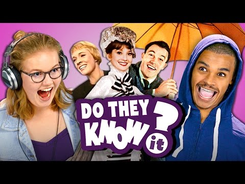 DO TEENS KNOW MOVIE MUSICALS? REACT: Do They Know It?
