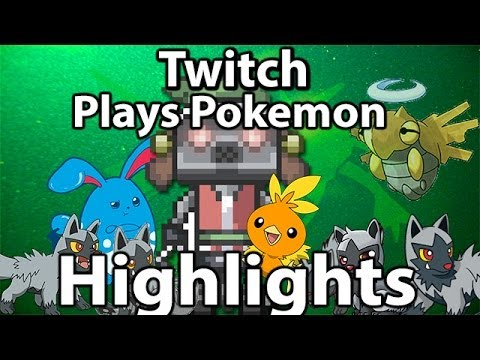 Highlights Of Twitch Plays Pokemon Emerald (Gen 3 Day 1-6)