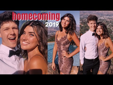 homecoming 2019! ( grwm + vlog )
