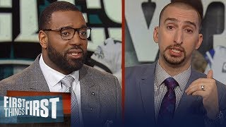 Nick Wright and Chris Canty's biggest keys for Sunday's Cowboys vs Eagles | NFL | FIRST THINGS FIRST