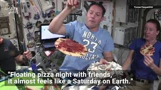 Watch Astronaut Pizza Chefs Make Za in Zero-G