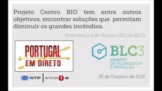 """Antena 1   Rubrica: """"Portugal em direto"""" - Entrevista a João Nunes, CEO da BLC3"""