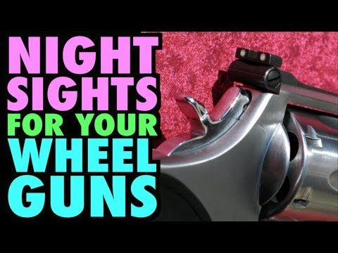 Night Sights for Revolvers?