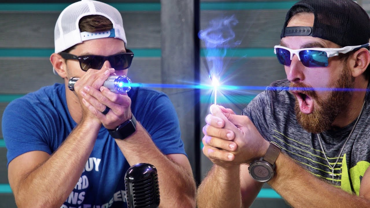 World's Strongest Laser | Overtime 5 | Dude Perfect image