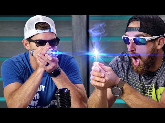 World's Strongest Laser | Overtime 5 | Dude Perfect