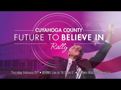A Future to Believe In Cuyahoga County Rally