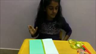 Let us learn how to make a beautiful folder using the materials ava...