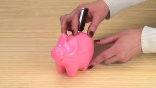 Свинья  с MP3. Парк чудес. Прикольные игрушки оптом.