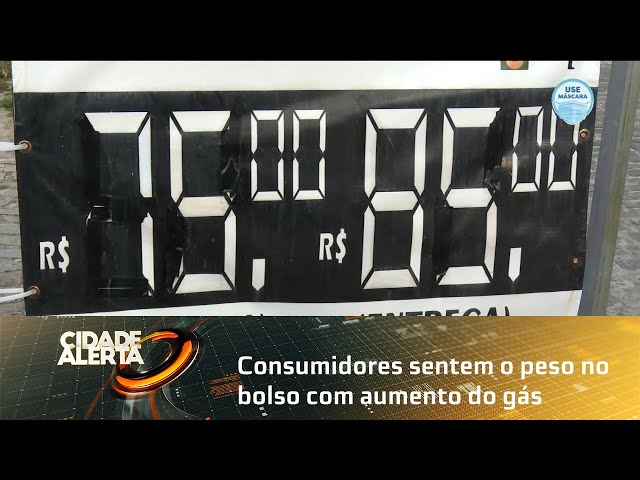 Consumidores sentem o peso no bolso com aumento do gás em Alagoas