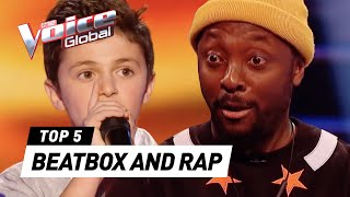 Download The best BEATBOX & RAP Blind Auditions on The Voice Kids