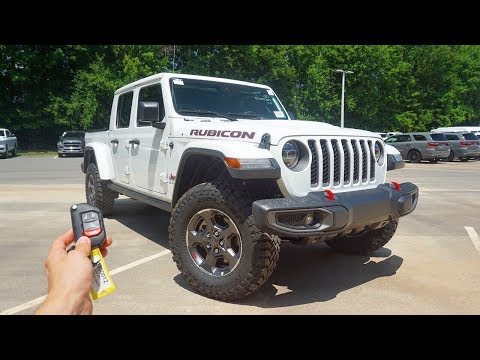 2020 Jeep Gladiator Rubicon: Start Up, Walkaround, Test Drive and Review
