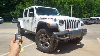 Gambar cover 2020 Jeep Gladiator Rubicon: Start Up, Walkaround, Test Drive and Review