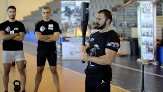 Tactical Functional Training® - Master Trainer Emilio Troiano teaching at Instructors Course