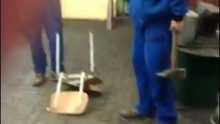 SPSŠ Betlémská: Jak opravit židly