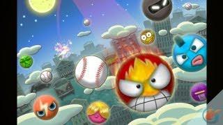 Flick Home Run ! Updated - iPhone Gameplay Video