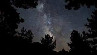 NIGHT SKY TURKEY MILKY WAY 4K - Melikler Yaylası Samanyolu Time lapse
