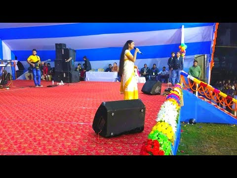 Nahid afrin at Dhubri #Komola sundori Song | কমোলা সুন্দৰীৰ নাচন  ধুবুৰীত