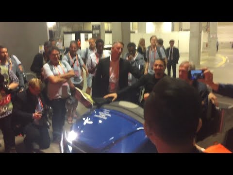Europa League Final - Zlatan Ibrahimovic Arrives In Style!