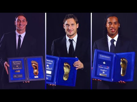 Golden Foot Award Winners II 2003 - 2017 II