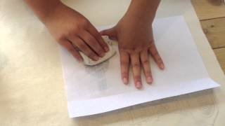 How to transfer a photocopy to fabric using Acetone