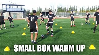 SoccerCoachTV - Small Square Warm Up.