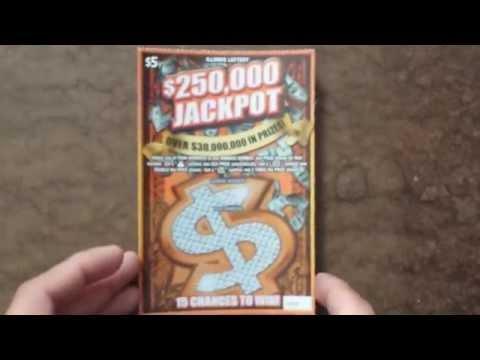 Win Illinois Lottery Jackpot Scratch Off