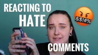 Reading Hate Comments About My Service Dog