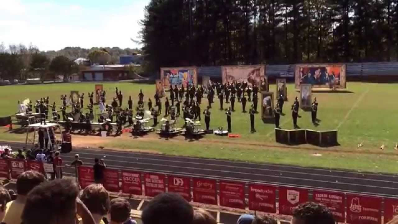 Forbush High School Marching Band Competition Grand Champion Youtube