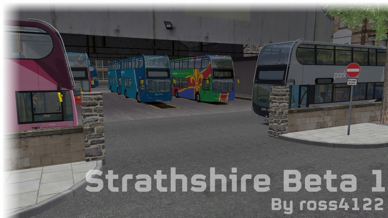 OMSI 2 (UK map Strathshire PRIVATE Beta 1)