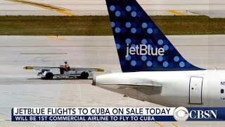 JetBlue introduces direct flights to Cuba