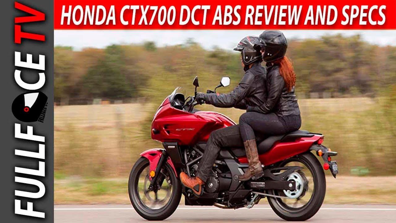 2017 honda ctx700 dct abs review