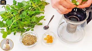 ТРАВЯНОЙ ПОЛЕЗНЫЙ ЧАЙ - На Здоровье! Вкусный чай на травах с имбирем | Herbal tea