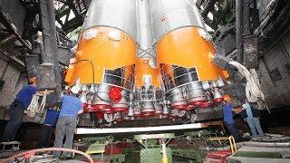 Запуск ракеты носителя  Союз 2 1а  с космодрома Байконур 14 07 17